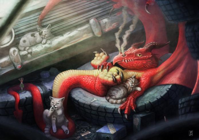 The Junk Yard Dragon